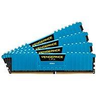 Corsair 16 GB KIT DDR4 2666 MHz CL16 Vengeance LPX modrá - Operačná pamäť