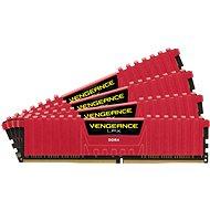 Corsair 16 GB KIT DDR4 3000MHz CL15 Vengeance LPX červená - Operačná pamäť