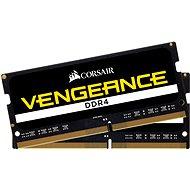Corsair SO-DIMM 16 GB KIT DDR4 2 666 MHz CL18 Vengeance čierna - Operačná pamäť