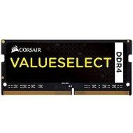 Corsair SO-DIMM, 4 GB KIT DDR4 2 133 MHz CL15, ValueSelect čierna - Operačná pamäť