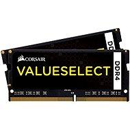 Corsair SO-DIMM, 8 GB KIT DDR4 2 133 MHz CL15, ValueSelect čierna - Operačná pamäť