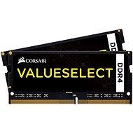 Corsair SO-DIMM, 16 GB KIT DDR4 2 133 MHz CL15, ValueSelect čierna - Operačná pamäť