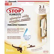 CERESIT Stop Vlhkosti 2 v 1 – absorpčné vrecúška vanilka 2 × 50 g - Pohlcovač vlhkosti