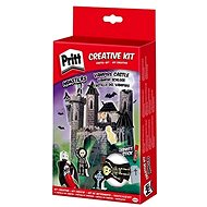 PRITT Crafting kits Loď duchov, Zámok upírov, Dračí kopec, Fantómovo vozidlo - Didaktická hračka