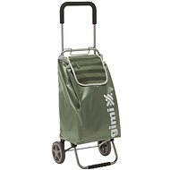 GIMI Flexi, zelený, nákupný vozík 45 l - Vozík