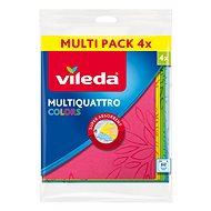 VILEDA Multiquattro Colors handrička 4 ks