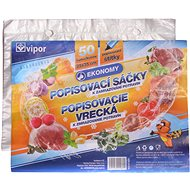VIPOR HDPE freezing bags, 25 × 35cm, 50 pcs - Bag
