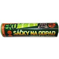VIPOR LDPE Eko s páskou 60 l, 10 ks, zelené