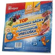 VIPOR Bag HDPE Freezing Bag 30 × 50cm, 25 pcs, Transparent - Bag