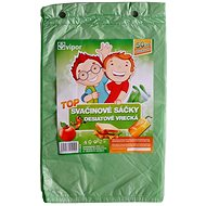 VIPOR HDPE Top 20 × 30 cm, 50 pcs, green - Bag