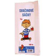 VIPOR Snack paper bags 1 kg, 100 pcs - Bag