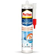 PATTEX Quick-drying sanitary silicone, white 280 ml