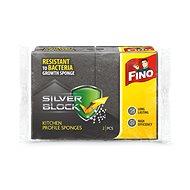 Umývacia hubka FINO Silver hubka profilovaná 2 ks