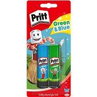 PRITT Glue sticks - blue and green 2×20 g