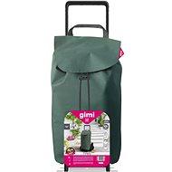 GIMI Tris Floral Shopping Trolley, Green - Shopping Trolley