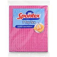 SPONTEX Top Tex, hubová utierka, 3 ks