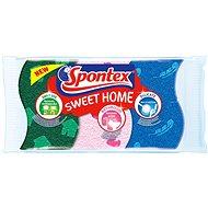 SPONTEX Sweet Home, viskózna hubka, 3 ks