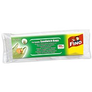FINO Snack Bags with Handles 100 pcs - Plastic Bags
