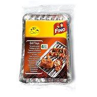 FINO Grilovacie tácky 4 ks, 35 cm × 23 cm - Grilovacia sada
