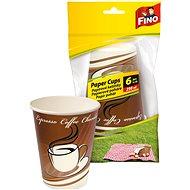 FINO Papierové tégliky 250 ml, 6 ks - Kempingový riad