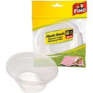 FINO Plastové misky 250 ml, 6 ks - Outdoorový riad