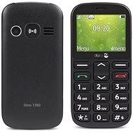 Doro 1360 Dual SIM Black - Mobilný telefón