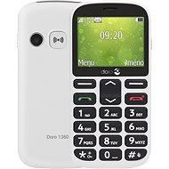 Doro 1360 Dual SIM White - Mobilný telefón