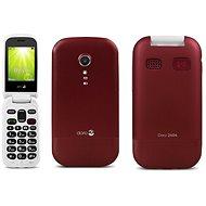 Doro 2404 Dual SIM Red - Mobilný telefón