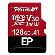 PATRIOT EP Series 128GB MICRO SDXC V30 A1 - Pamäťová karta