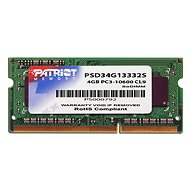 Patriot SO-DIMM 4 GB DDR3 1333 MHz CL9 Signature Line - Operačná pamäť
