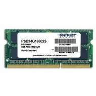 Patriot SO-DIMM 4GB DDR3 1600MHz CL11 Signature Line - Operačná pamäť