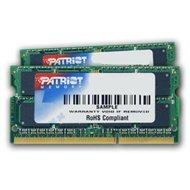 Patriot SO-DIMM 16GB KIT DDR3 1333 MHz CL9 Signature Line pre Apple - Operačná pamäť
