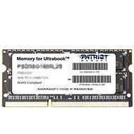 Patriot SO-DIMM 4 GB DDR3 1600 MHz CL11 Ultrabook Line - Operačná pamäť