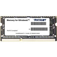 Patriot SO-DIMM 4GB DDR3 1600MHz CL11 Ultrabook Line - Operačná pamäť