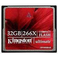 Kingston Compact Flash 32GB 266x Ultimate - Pamäťová karta