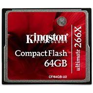 Kingston Compact Flash 64 GB 266X Ultimate - Pamäťová karta