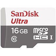 SanDisk MicroSDHC 16 GB Ultra Android Class 10 UHS-I