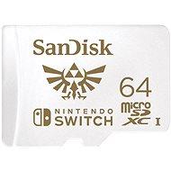 SanDisk MicroSDXC 64GB Nintendo Switch A1 UHS-I (V30) U3 - Pamäťová karta