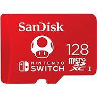 SanDisk MicroSDXC 128GB Nintendo Switch A1 UHS-I (V30) U3 - Pamäťová karta