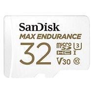 Pamäťová karta SanDisk microSDHC 32GB Max Endurance + SD adaptér