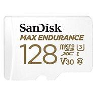 SanDisk microSDXC 128GB Max Endurance + SD adaptér - Pamäťová karta