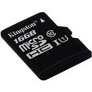 Kingston MicroSDHC 16 GB Class 10 UHS-I - Pamäťová karta