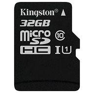 Kingston MicroSDHC 32 GB Class 10 UHS-I - Pamäťová karta