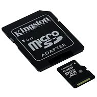 Kingston micro SDXC 64 GB Class 10 UHS-I + SD adaptér - Pamäťová karta