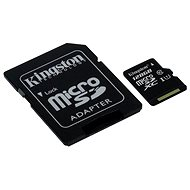 Kingston micro SDXC 128 GB Class 10 UHS-I + SD adaptér - Pamäťová karta