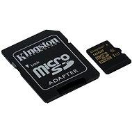 Kingston micro SDHC 16 GB UHS-I U3 + SD adaptér - Pamäťová karta