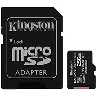 Kingston Canvas Select Plus micro SDXC 256GB Class 10 UHS-I + SD adaptér - Pamäťová karta