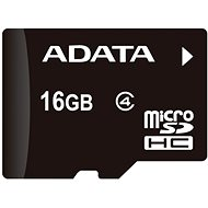 ADATA Micro SDHC 16GB Class 4 + OTG mikro čítačka - Pamäťová karta