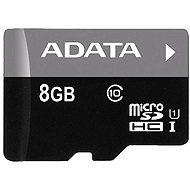 ADATA MicroSDHC 8 GB Class 10 - Pamäťová karta