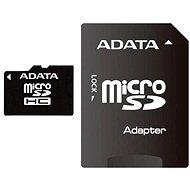 ADATA microSDHC 8 GB Class 10 + adaptér - Pamäťová karta
